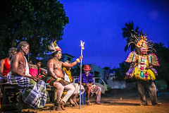 Therukoothu (Streetplay) (VENGAT SIVA) Tags: people india night rural lights artist stage streetphotography international roadside drama mode roi streetplay trama indianstreetphotography indianstreets therukoothu rootsofindia