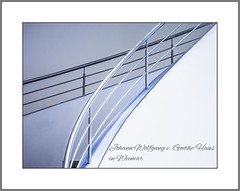 Goethe Haus (Goethe House) (alfred.hausberger) Tags: weimar haus moderne treppe architektur goethe linien