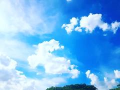 Be keen.  In between.  #sky #clouds #peaceful #blue (kareindirecto) Tags: blue sky clouds peaceful