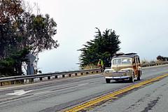 woody Cruising to Santa Cruz (F R Childers Photography) Tags: pch highway1 hotrod hotrods hwy1 woodywagon californiapch