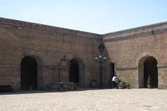 20120530_CastleCourtyard (jae.boggess) Tags: spain espana europe travel trip eurotrip spring springtime barcelona montjuic