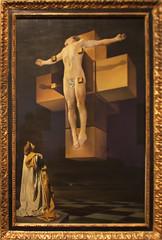 Salvador Dali - Crucifixion (Corpus Hypercubus) 1954 (ahisgett) Tags: new york art museum met metropolitian