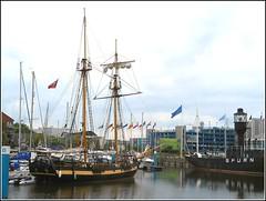 Hull Marina .. (** Janets Photos **) Tags: uk boats hull lightships historicships hullmarina