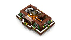 Alpine Chalet - 1st floor (2) (Darth Varader) Tags: lego alpine chalet baita