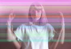 """J179/365 """"Digital art"""" (manon.ternes) Tags: paris photos photography photographie personne projet365 projet pink parisienne portrait project personnes 365project 365days 365 tudiante student challenge fille girl art digital rainbow rose montage"""