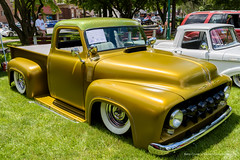 1953 Ford F100 (Barry Cruver) Tags: classic ford car truck pennsylvania f100 chrome carshow musclecar 1953 palmerton carboncounty palmertonpark palmertonmemorialpark thepacemakersassociation chrisnace