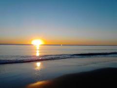 playa matalascaas,Huelva (carmenmariagonzalezsilva) Tags: sunset beach atardecer sand playa arena