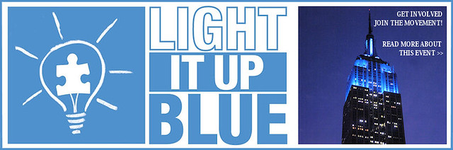 AUTISM Speaks Light It Up Blue Campaign