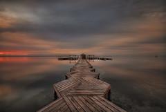 12.04.12_MG_2084-Al amanecer. (vipuchol) Tags: paisajes silver t lost mar amanecer embarcadero con perdidos silverlostcontperdidos