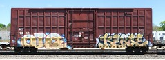 Rio/Kerse (quiet-silence) Tags: railroad art rio train graffiti railcar boxcar graff freight amfm sry fr8 kerse oir sry9063