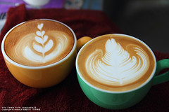 latte art (nodie26) Tags: art cup water coffee hearts leaf cafe heart tea drink espresso latte