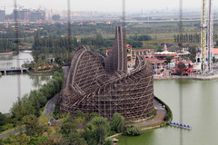 Wooden Rollercoaster (Rixn) Tags: happy shanghai valley roller coaster