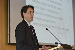 "Alexander Frötscher speaking at ""Smarter on the way"""