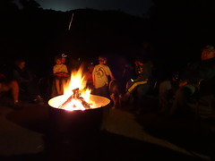around the campfire 01 (maureenld) Tags: camping friends fun 40th bash may db campfire annual pinnacles 2012 pinnaclesnationalmonument bethereorbesquare desertbash btobs