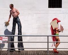 2012 Coney Island Mermaid Parade, New York City (jag9889) Tags: county city nyc costumes usa ny newyork art history festival brooklyn coneyisland pride parade kings mermaid mardigras 2012 marchers jag9889 y2012 6232012 coneyislandmermaidparade2012
