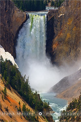 Lower Falls - Yellowstone N.P - Wyoming - USA (~ Floydian ~) Tags: park usa water canon river landscape flow landscapes waterfall stream united falls national yellowstone states wyoming np lower meijer henk floydian canoneos1dsmarkiii henkmeijer