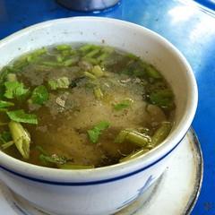 Clear Soup With Tofu And Minced Pork | แกงจืดเต้าหู้หมูสับ @ ข้าวขาหมูศึกษาวิทยา เจ้าเก่า