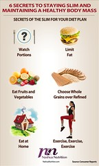 6 Secrets to Staying Slim and maintaining a Healthy Body Mass Index - Infographic (NashuaNutrition) Tags: healthy slim exercise health diet workout trim weightloss weight nutrition dieting workingout bmi loseweight dietplan bodymassindex eatinghealthy gainweight