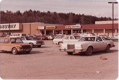 CARS IN THE SAUGERTIES JAMESWAY PARKING LOT IN FEB 1982 (richie 59) Tags: winter usa building cars film america 35mm buildings outside us store 1982 parkinglot unitedstates oldbuildings 35mmfilm storefront vehicle newyorkstate oldpictures shoppingcenter stores 1980s oldcars oldpicture oldbuilding automobiles cvs olddays nystate rustycars americancars hudsonvalley saugerties motorvehicles ulstercounty uscars midhudsonvalley jamesway ulstercountyny americanbuilding saugertiesny picturescan americanbuildings richie59 feb1982 feb271982 old35mmpictures