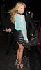 Lauren Pope leaving the launch party for website 'You Gossip', held at the Red Bar, Grosvenor House Hotel. London, England