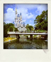 Disney Poladroids (Etrusia UK) Tags: travel usa water america geotagged us holidays florida disney disneyworld wdw waltdisneyworld mk magickingdom overseas poladroid disneythemeparks geo:lat=2841927131376732 geo:lon=8158045762457277