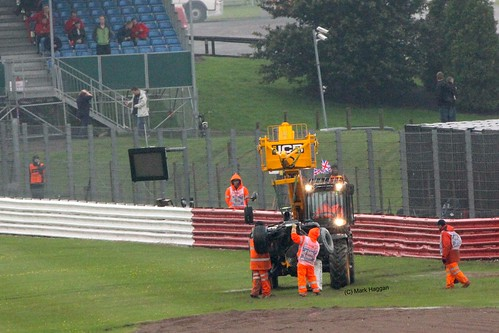 Bruno Senna's Crash at SIlverstone