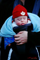 Lil Canuck (wade in da water) Tags: winter baby canada vancouver britishcolumbia photojournalism pacificnorthwest westcoast 2010winterolympics peopleportraits wonderfulworld passionphotography nikond40 beautifulcapturegroup wadeindawater nikonpassion unlimitedphotos amemoryofourdailylife
