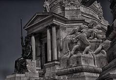 Estatua de Marques e suas Reformas-Minerva e Universidade de Coimbra (miza monteiro) Tags: portugal lisboa estatua marquesdepombal