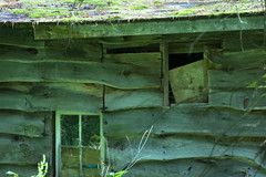 07-16 Old Building 02 (George - with over 2 mil views - THANKS) Tags: old usa newyork unitedstates weathered speculator oldbuilding hamiltoncounty woodslabbuilding