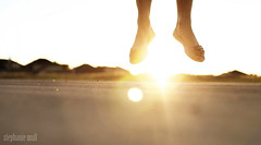 Leap (stephmull) Tags: light sun selfportrait feet jump wings flare leap nowyou
