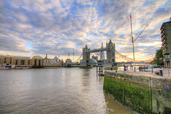 (Harry Ball) Tags: uk sky london architecture clouds photoshop towerbridge reflections 7d riverthames hdr 2012 london2012 southwarkbridge londoncityhall olympicrings photomatix sigma1020 canonphotography theshard canon7d london2012olympicgames shardinauguration