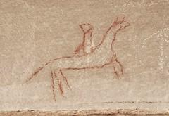 Pictograph / Canyon Pintado Area (Ron Wolf) Tags: horse colorado nativeamerican ute petroglyph archeology anthropology rockart blm zoomorph pictograph canonpintado