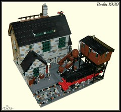 Lego Berlin 1939 (=DoNe=) Tags: world 2 berlin by viktor war tank lego tiger made custom done diorama 1939