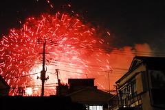 SumidaRiverFireworks008 (Kosei.S) Tags: sky festival japan night river fire tokyo nikon works d200 asakusa sumida 2012 komagata