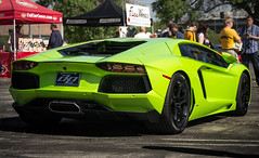 Aventador (Bernardo Macouzet Photography) Tags: black verde green los angeles sunday wheels ithaca lamborghini supercar ae v12 lambo worldcars aventador lp7004