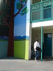 Mean mural (rasputina2) Tags: school mural santamonica roosevelt elementary disrespectful unkind paintover
