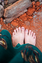 "Day 188: ""Red Earth"" (FallingLeavesPhotography) Tags: canada history feet girl baptist guest"