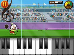 Piano Summer Games (Sivan Baron) Tags: summer game kids illustration design games animation target volleyball archery olympics granny iphone ipad joytunes sivanbaron