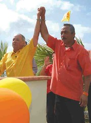 Gov. Gutierrez and Sen. BJ Cruz
