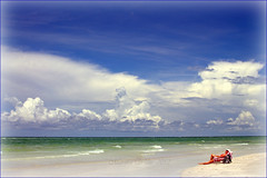 Just Relax (gatorgalpics) Tags: beach relax florida lidobeach