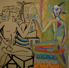 Prometheus Twinned after Coleen (MATLAKAS) Tags: paintings