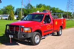 Port Clinton Fire Department Engine 664 (Triborough) Tags: ohio ford engine brush firetruck oh fireengine f350 portclinton ottawacounty fseries brushtruck pcfd portclintonfiredepartment engine664