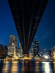 Queensboro Bridge (Dnal  C) Tags: longexposure newyork manhattan queensborobridge rooseveltisland