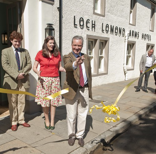 Loch Lomond Arms Hotel open 2