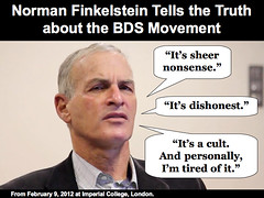 Finkelstein Doesn't BS about BDS (HonestReporting.com) Tags: news israel media truth report slide fair norman honest cult coverage slideshow press interview nonsense boycott journalism watchdog corre reporting bias dishonest bds finkelstein sanction divest honestreporting deligitimization