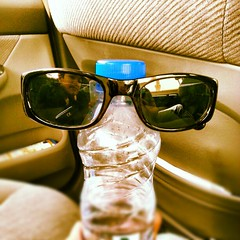 Mr. Water Bottle (WelloJ) Tags: water sunglasses square bottle funny galaxy squareformat s3 waterbottle lordkelvin      iphoneography instagramapp uploaded:by=instagram galaxys3