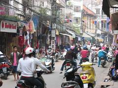 Hanoi street (mbphillips) Tags: fareast southeastasia 越南 ベトナム 베트남 asia アジア 아시아 亚洲 亞洲 mbphillips canonixus400 geotagged photojournalism photojournalist hanoi capital 首都 수도 travel vietnam việtnam