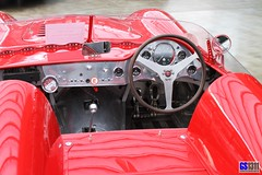 1966 Maserati 300 S RC (Recreation on Mistral 3.7 Basis) (Georg Sander (GS1311)) Tags: pictures auto old red wallpaper detail rot classic cars 1955 car wheel vintage rouge photo high rojo automobile foto steering image photos antique alt interior interieur details picture cockpit mobil s images 1966 historic innen fotos vehicle resolution oldtimer 1956 dashboard autos 300 speedo bild instruments rosso speedometer rc innenraum bilder maserati gros tachometer tacho lenkrad classique automobil instrumente armaturenbrett 300s auflsung armaturentafel