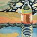 Bottle 1, oil on board, Roy B. Brinker