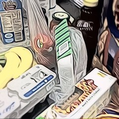 shopping for dinner (Dderry119) Tags: detail contrast dinner turkey shopping paint overlay structure bananas crop saturation eggs noodles apples layers toon filters brightness whitebalance iphone ambiance laminar tiltshift ipad itouch chocomilk iphoneography toonpaint snapseed blurstrength selectadjust laminarapp